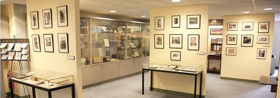 A.A. archives displays